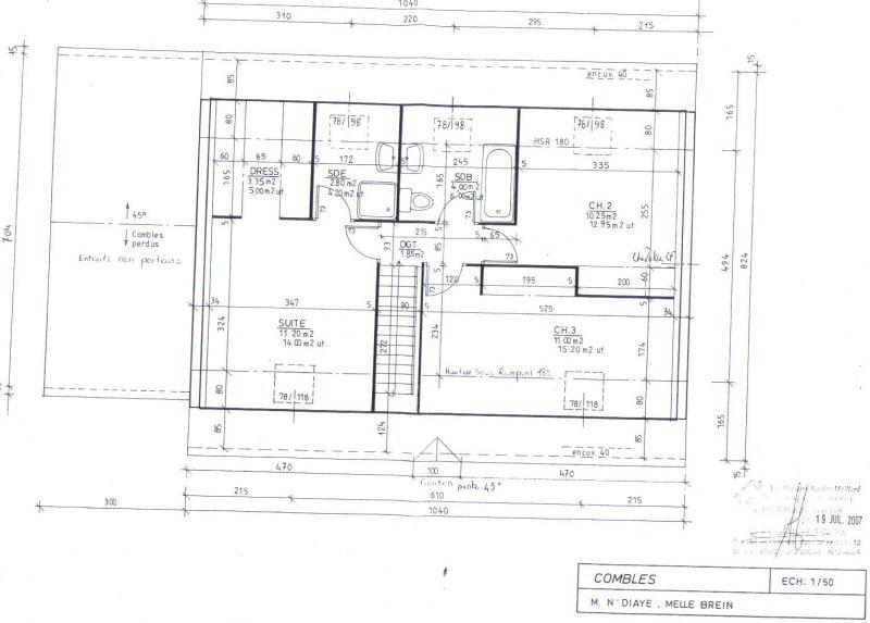 2008 mai notre maison brie comte robert for Agrandissement maison limite de propriete